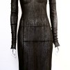 NOIR-MESH-DRESS - NOIR-MESH-DRESS BLACK MEDIUM