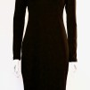 NOIR-TURTLENECK-DRESS - NOIR-TURTLENECK-DRESS BLACK LARGE