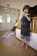 Henning-trollet hart gjort ett eget blåsinstrument