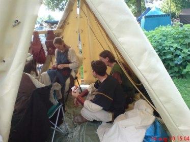 Det fina tältet