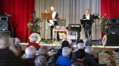 Rolf Åkes band gjorde succé