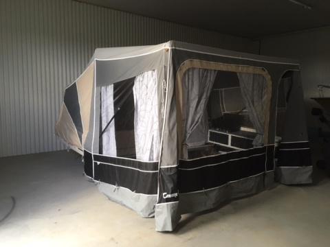 Begagnad tältvagn Camp-let Savanne - 07  - säljes