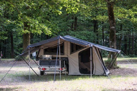 Camp-let 2GO tältvagn hyra prova på