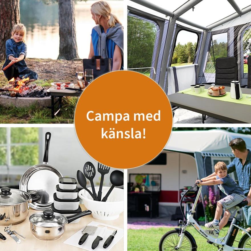 Återförsäljare för KAMA Fritid, Europas ledande leverantör av tillbehör för husvagn, husbil, camping och fritid - CJ Tält & Fritid i Halland