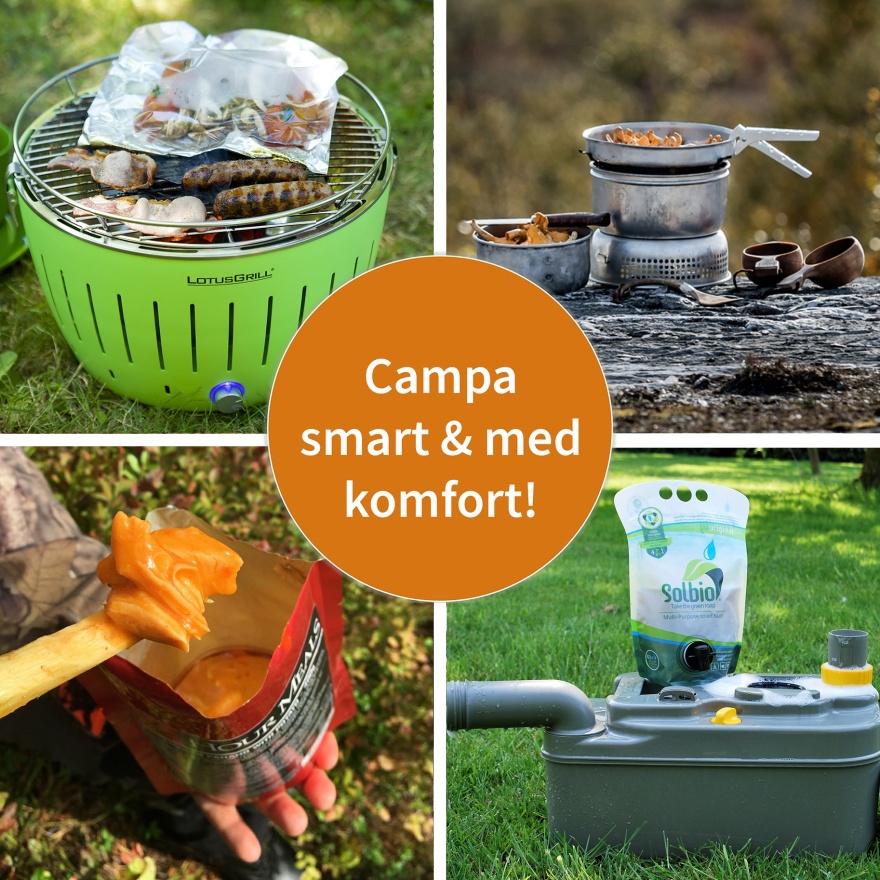 Återförsäljare av  campingutrustning & friluftsutsrustning  från DCT &  KAMA Fritid - CJ Tält & Fritid i Torup, Halland