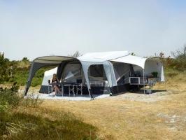 Kampanj & erbjudande på Isabella Camp-let tältvagn hos CJ Tält & Fritid i Torup, Halland.
