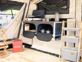 Utrustning & Tillbehör  Campooz tältvagnar hos  CJ Tält & Fritid i Torup, Halland