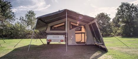 Camping påbyggnad till Campooz Tältvagn - C J Tält & Fritid