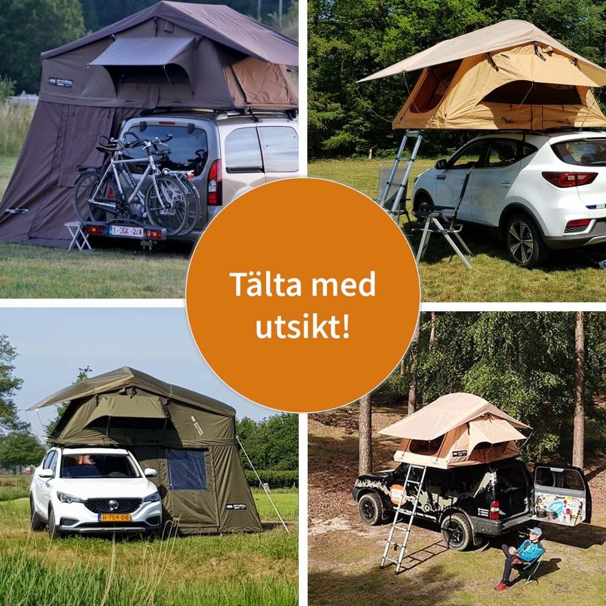 Återförsäljare av  taktält från DARE TO BE DIFFERENT - CJ Tält & Fritid i Torup, Halland