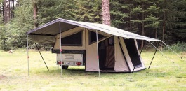 Köp & hyr tältvagn Isabella Camp-let Dream hos Tält & Fritid
