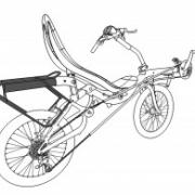 Azub bagagehållare för tvåhjulingar