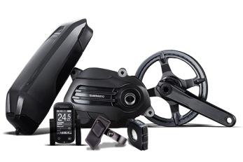 Azub elkit - STePS E6100 + kedjeväxel 1x9 för 20