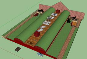 Eventuell framtida plan för gården