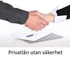 Privatlån utan krav på säkerhet online
