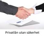 Kategori privatlån utan säkerhet