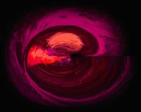 Energy Soul - cerise - Gicléetryck 38x50 cm, ram 53x73 cm