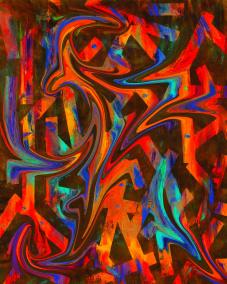Passion lifestile - reggae - Gicléetryck 38x50 cm, ram 53x73 cm