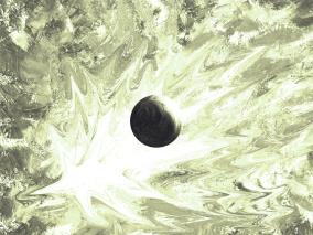 Lilla Nova - ljus grön - Gicléetryck 38x50 cm, ram 53x75 cm