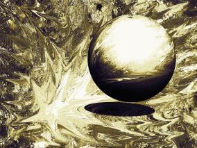 Big Bang - brons - Gicléetryck 38x50 cm, ram 53x73 cm