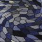 Entrématta - Sunrice Disco grå/blå - Entrématta 150x300 cm