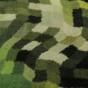 Entrématta - Blå Nilen - grön - Entrématta 150x300 cm