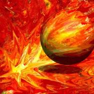 Big Bang - röd
