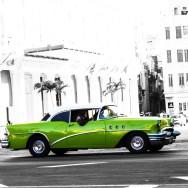 Ljudabsorbent - Havanna - grön bilglädje