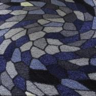 Entrématta - Sunrice Disco grå/blå