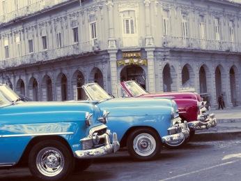 Ljudabsorbent motiv från Havanna. Foto Lisa Persdotter