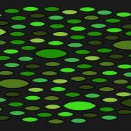 Entrématta - Guppy - grön