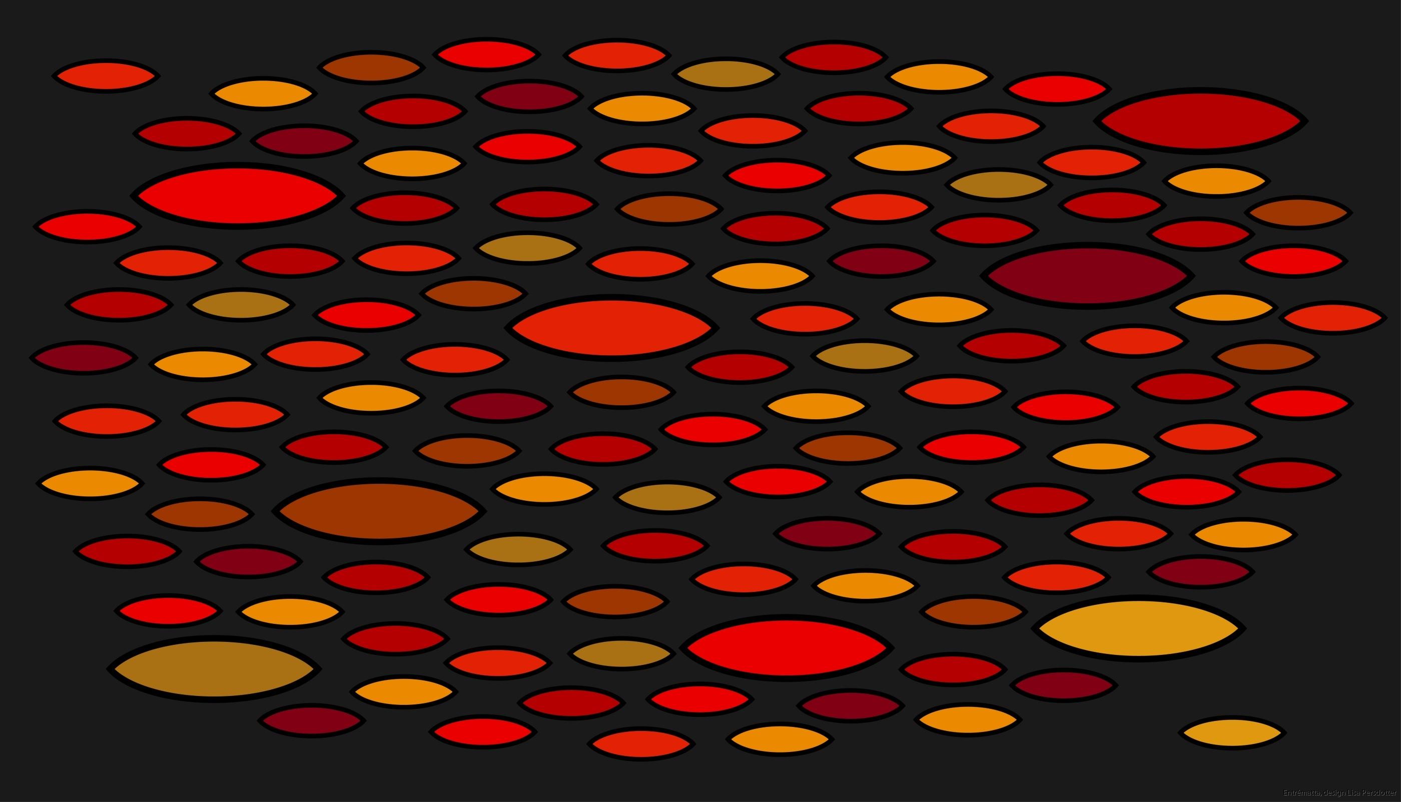 Entrematta grå röd gul