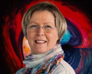 Konstnär Lisa Persdotter abstrakt konst modern konst canvas