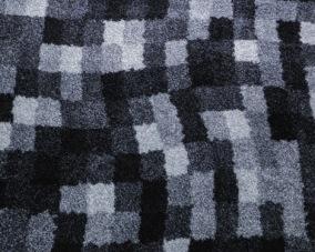 Entrématta - Blå Nilen - grå - Dörrmatta 85x75 cm
