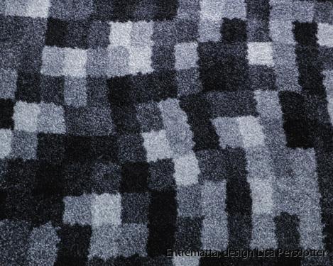Hallmatta, design, grå, tvätt 60 grader