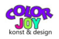 COLORJOY Runda mattor. Färgglada & barnvänliga runda mattor. Maskintvätt 60 grader.