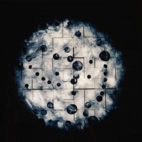 Bubbels Glow - Galleritryck 60x60 cm