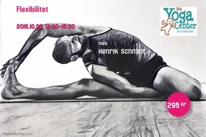 Workshop i yoga, Hotyoga Helsingborg, yoga Helsinborg, Henrik Scmidt, Flexibilitet med Yoga