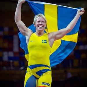 Vi gratulerar en av våra yogis, Jenny Fransson till sitt EM guld i brottning!