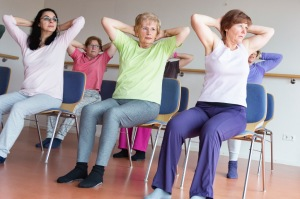 Kurs i Chair yoga, Stol yoga i Helsingborg på HotYoga Helsingborg, Helsingborgs Yogacenter