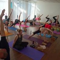 Nybörjarkurs i yoga nivå 1 i Helsingborg på HotYoga Helsingborg / Helsingorgs Yogacenter