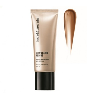 BARE MINERALS COMPLEXION RESCUE TINTED HYDRATING GEL CREAM - CHESTNUT -