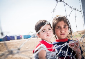 Flera miljoner barn är drabbade av kriget i Syrien