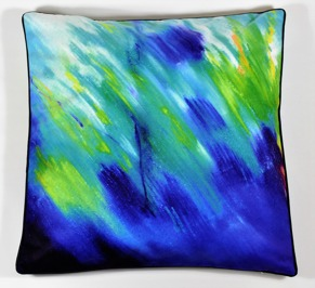 Summer shade pillow cover -