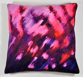 Sunset pillow cover -