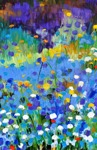 Late Afternoon: 80x120 cm, oil on canvas - SOLD