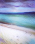 Falsterbo beach: Soft pastel on paper - Price upon request
