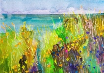 Ocean view - Falsterbo: watercolour, A3 - Price upon request