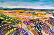 Freedom: 80x120 cm, oil on canvas