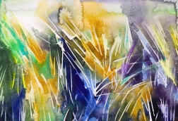 Beach grass 3: 25,4x17,8 cm, watercolor on paper - price upon requestIMG_6486
