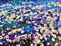 Happy blues: 60x80 cm, oil on canvas -  price upon request